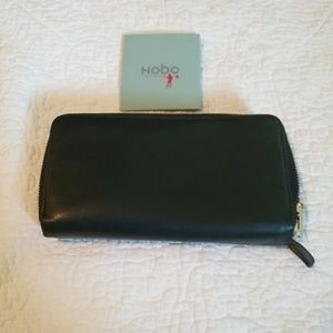 Hobo International double zip wallet